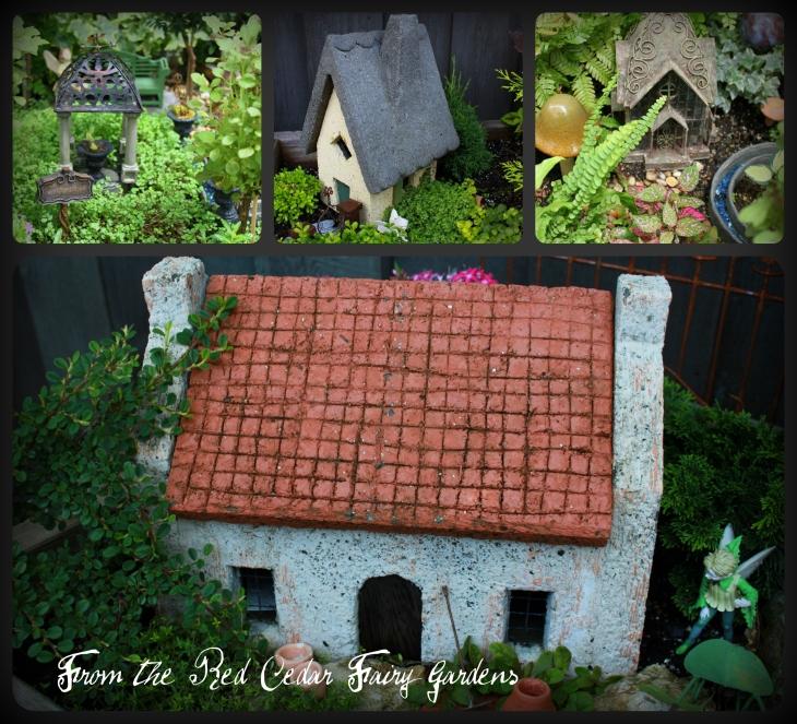 Hypertufa Fairy Cottage